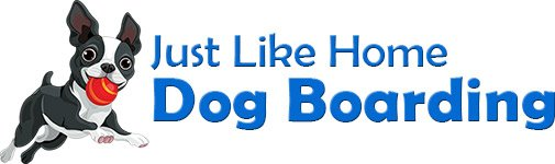 Just Like Home Dog Boarding Logo